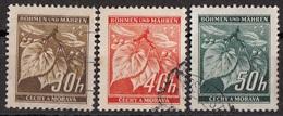 24 Boemia E Moravia 1939-1941  Linden Leaves And Closed Buds Used - Boemia E Moravia