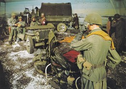 Bastogne, Historical Center,  US Army Reconstitution, Le Brigadier Général Anthony Mc Auliffe (pk39492) - Bastogne