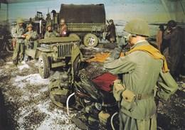 Bastogne, Historical Center,  US Army Reconstitution, Le Brigadier Général Anthony Mc Auliffe (pk39492) - Bastenaken