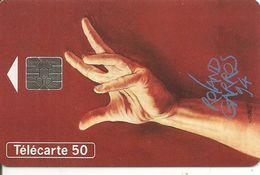 CARTE°-PUBLIC-F465A-50U-05/94-SO5-ROLAND GARROS 94-SN° A 45010947-UTILISE-TBE-RARE Cote 110€-Non Référencié - France