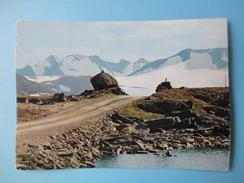 Norvegia - View From The Sognefjell - Road Otta - Lom - Sognefjord - Norvegia