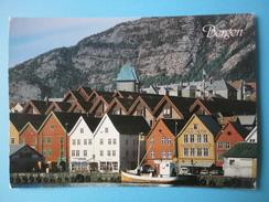 Norvegia - Bergen - Bryggen - Scorcio Panoramico - Norvegia