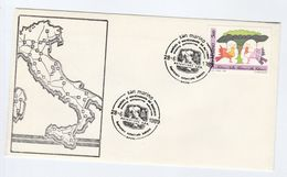 1989 SAN MARINO AUTOSTRARDE EVENT COVER Stamps Nature Conservation - San Marino