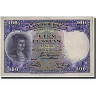 Espagne, 100 Pesetas, 1931, KM:83, 1931-04-25, TB+ - 100 Pesetas
