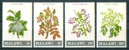 1971 Malawi Fiori Flores Fleurs Alberi Trees Arbres Set MNH** Fio169 - Malawi (1964-...)