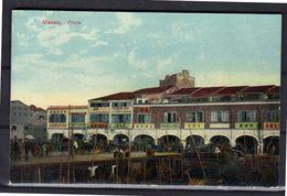 Macao Praya Around 1910 A Rare Card In PRISTINE Condition (m13) - Cartes Postales