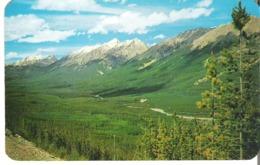 The Beautiful Kootenay Valley In Kootenay National Park, British Columbia - Brits-Columbia