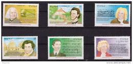 Cuba 3653/3658 ** MNH. 1997 - Kuba
