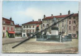 CPM -  Pont De Vaux -(Ain ) - 16 - La Place Joubert - Pont-de-Vaux