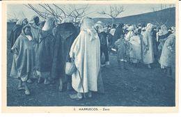 POSTAL     ZOCO EN MARRUECOS - Postales