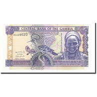 The Gambia, 50 Dalasis, Undated (2001), KM:23a, NEUF - Gambia