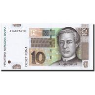 Croatie, 10 Kuna, 1993, 1993-10-31, KM:29a, NEUF - Croatie