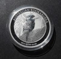 Australia, Kookaburra 1 Oz 2014 Silver 9999 Pure - 1 Oncia Argento Puro Bullion Perth Min - Australia