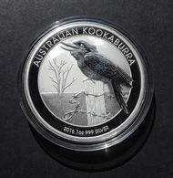 Australia, Kookaburra 1 Oz 2016 Silver 9999 Pure - 1 Oncia Argento Puro Bullion Perth Min - Mint Sets & Proof Sets