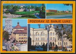 °°° 8540 - BOSNIA HERZEGOVINA - POZDRAV IZ BANJE LUKE - VIEWS - 1989 With Stamps °°° - Bosnia Erzegovina