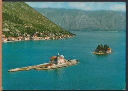 °°° 8541 - MONTENEGRO - PERAST - OTOCI - ISLAND - INSELN - With Stamps °°° - Montenegro