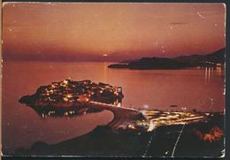°°° 8542 - MONTENEGRO - SVETI STEFAN - 1987 With Stamps °°° - Montenegro
