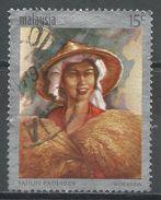 Malaysia 1969. Scott #61 (U) Malaysian Girl Holding Sheaves Of Rive * - Malaysia (1964-...)