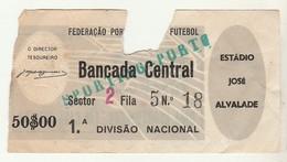 Ticket * Portugal * Soccer * Sporting X Porto * Estádio José Alvalade * See Grade - Tickets - Vouchers