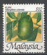 Malaysia 1986. Scott #335 (U) Mangifera Odorata, Fruits * - Malaysia (1964-...)