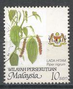 Malaysia, Wilayah Persekutuan 2002. Scott #11 (U) Piper Nigrum * - Malaysia (1964-...)