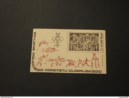 POLONIA - BF 1979 COMITATO OLIMPICO - NUOVO(++) - Blocks & Sheetlets & Panes