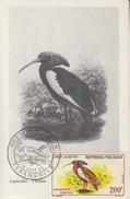 Carte Maximum  1er  Jour   MADAGASCAR   Oiseau   1963 - Parrots