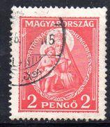 XP3386 - UNGHERIA , 2 Pengo Usato Yvert N. 446 - Ungheria