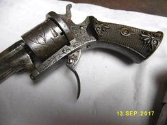 Revolver A Broche 7mm - Armes Neutralisées