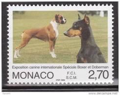 Monaco - 1998 - Exposition Canine - N° 2148  - Neuf ** - MNH - Monaco