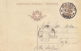 Gaiano. 1929. Annullo Guller GAIANO * PARMA * Su Cartolina Postale - 1900-44 Victor Emmanuel III
