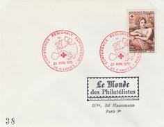 Cannes 1970  - Conférence Européenne De La Croix Rouge - - Marcofilie (Brieven)