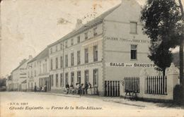 Grande Espinette - Ferme De La Belle-Alliance (DVD, Animée, Cachet Rhode St Genese, 1908) - Rhode-St-Genèse - St-Genesius-Rode