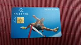 Sport 500 Bef Phonecard Belgium Used Low Issue Rare - Belgien