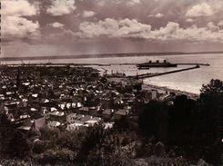 CPSM 76 LE HAVRE Vue Générale Sur La Ville L'Avant Port PAQUEBOT SORTANT Du Port - Porto