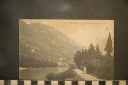 CP, 38, GRENOBLE (Isère),  LE MONT RACHAIS VU DE L'ILE VERTE - ND PARIS N° 378 - Grenoble