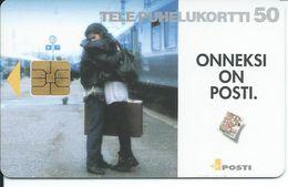 Télécarde TRAIN  Phonecard Telefonotek Telefonkarte  (S.600) - Finlande