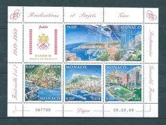 Monaco Bloc  De 1999 Avec Les N°2221 A 2224  Neuf ** Vendu A La Valeur Faciale - Blocks & Kleinbögen