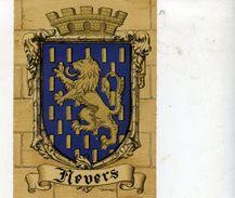 58 NEVERS - Blason, Armes De La Ville, Héraldique - Superbe CPSM (à Plats Or Et Argent) N° 1317 O Barré-Dayez - 1946 - Nevers