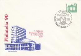 DPU 17/3  Philatelia`90  1. Nationale Briefmarken-Messe 8.-10.November Berlin, Berlin 2 - Kongreßhalle - [6] Democratic Republic