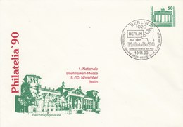 DPU 17/5  Philatelia`90  1. Nationale Briefmarken-Messe 8.-10.November Berlin, Berlin 2 - Reichstagsgebäude - [6] Democratic Republic