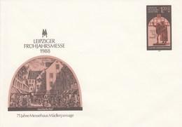 DPU 8**   Leipziger Frühjahrsmesse 1988 - 75 Jahre Messehaus Mädlerpassage - [6] Oost-Duitsland