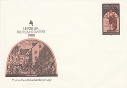 DPU 8**   Leipziger Frühjahrsmesse 1988 - 75 Jahre Messehaus Mädlerpassage - [6] Repubblica Democratica