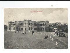 Automobile Corre La Licorne Ceylon Ceylan Colombo Museum Circulé Défauts 2 Scan Moteur De Dion Bouton - PKW