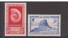 ALGERIE       N° YVERT  :   297/298  NEUF SANS CHARNIERE        ( N   1133  ) - Argelia (1924-1962)