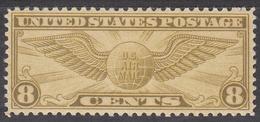 UNITED STATES   SCOTT NO. C17    MINT HINGED   YEAR  1931 - Air Mail