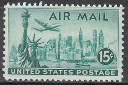 UNITED STATES   SCOTT NO. C35    MNH   YEAR  1947 - Luftpost