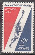 UNITED STATES   SCOTT NO. C56    MNH   YEAR  1959 - Luftpost