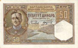 Occupazione Italiana In Montenegro-banconota SPL++ - [ 4] Emissioni Provvisorie