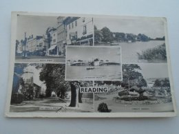 D153783 UK Berkshire READING  - The Abbot's Walk  -Broad Street - The Thames - Caversham Bridge - Reading